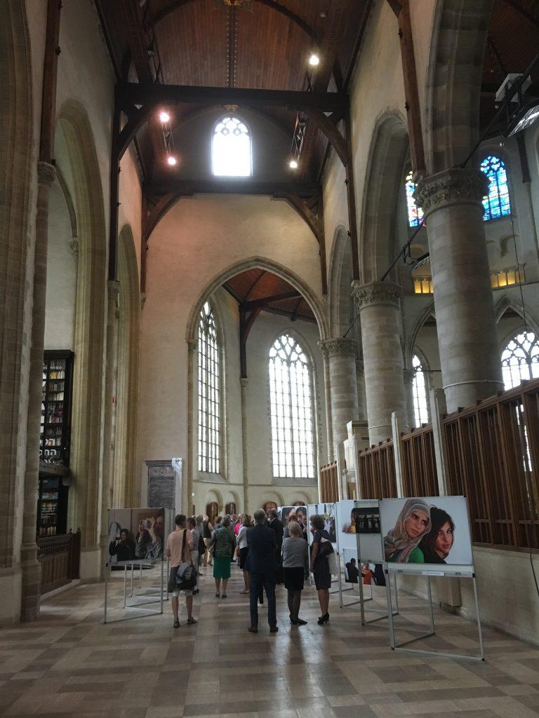 """Opening tentoonstelling """"Through others' eyes"""" in de Laurenskerk"""